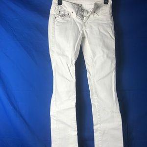 True Religion Disco Billy white Jeans